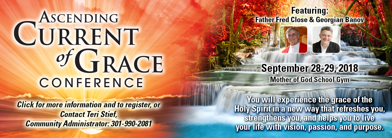 Ascending Current of Grace Conference, September 28-29, 2018