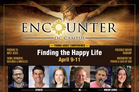 2021 Encounter Young Adult Conference: Finding the Happy Life
